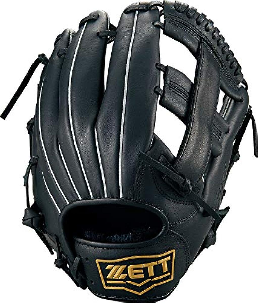 [해외] ZETT제트 연식 야구 소프트볼 겸용 글러브 글러브 라이 텍스 올라운드용 블랙1900 사이즈:5