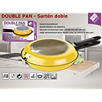 Todobizz Poêle double pour tortilla / omelette