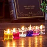 BANSURI Multicolour Mini Gel Candle Combo for Decoration - Set of 12