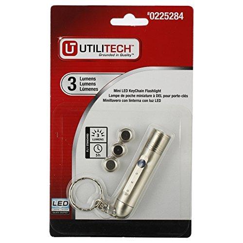 Keychain Lampe de poche Mini DEL Camping Porte-Clé Portable Minuscule Torche Lampe 45 lm