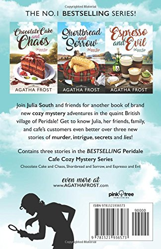 Peridale Cafe Cozy Mystery Series Volume 2 3 COMPLETE COZY MYSTERIES IN 1 Amazoncouk Agatha Frost 9781521936573 Books