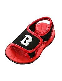Genda 2Archer Kids Cute Letter Non-slip Beach Sandals(Toddler/Little Kids)