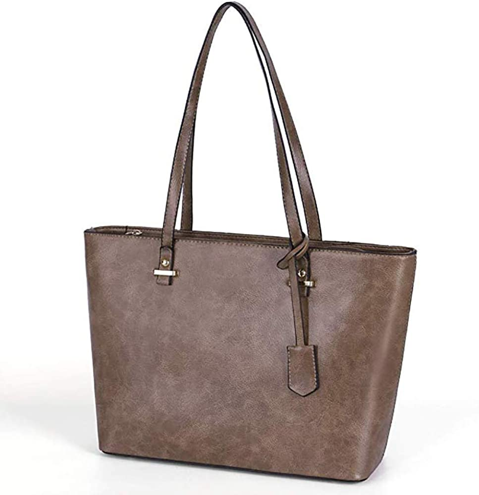 Handbag Set for Women 5 Pack Tote Purse Handbags Set PU Leather Satchel Bag