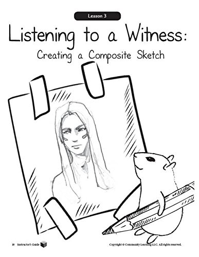 The Rogue Rodent Mystery:A Crime Scene Investigation for Grades K-1, Includes Essentials Supplies for Class of 30 and CD with Student handouts and Complete Supply List. by Community Learning (Image #3)