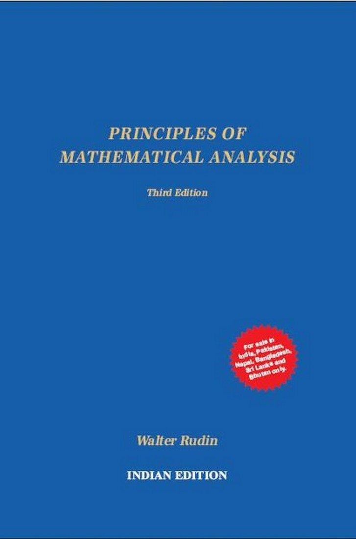 Principles of Mathematical Analysis: Rudin: 9781259064784: Amazon.com: Books