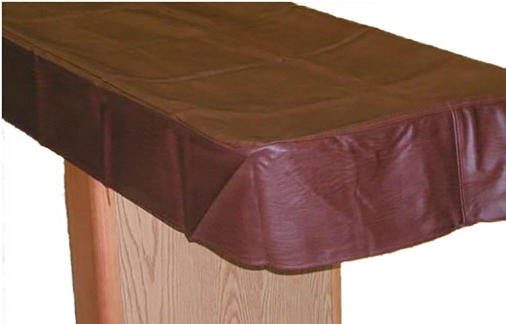 22' Shuffleboard Table Cover - Brown