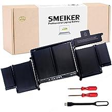 """SMEIKER MacBook Pro 13"""" Retina Battery for Apple ME864LL/A ME866LL/A A1502 A1493 (Only for Late 2013, Mid 2014 Version) - [Li-Polymer 11.34V 71.8Wh]"""