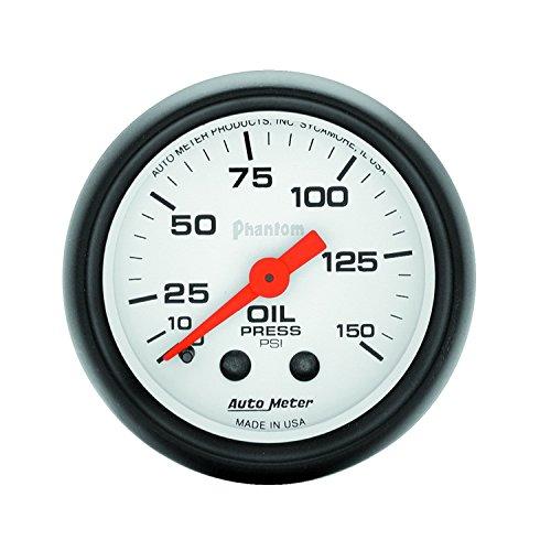(Auto Meter 5723 Phantom Mechanical Oil Pressure Gauge)