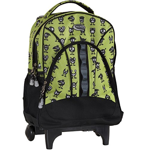 calpak-grand-stand-green-monster-unisex-17-inch-lightweight-rolling-sport-backpack