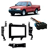 Fits Isuzu Hombre 1996-1997 Double DIN Stereo Harness Radio Install Dash Kit