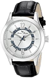 Lucien Piccard Watches Oxford Leather Band Watch