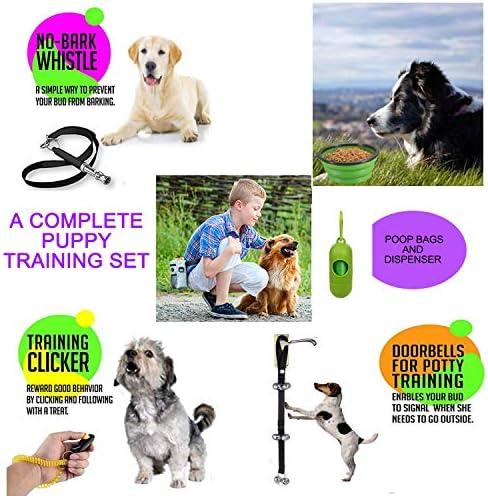 Set Bolsa de adiestramiento para perros Bolsa de Tratamiento Para Mascotas Almacenamiento Para Perros Bolsa de Malla Juguetes Para Mascotas 6