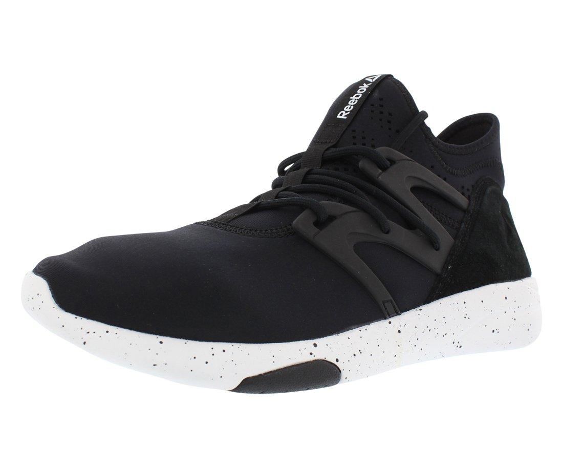 Reebok Women's Hayasu Dance Shoe, Black/White, 7 M US