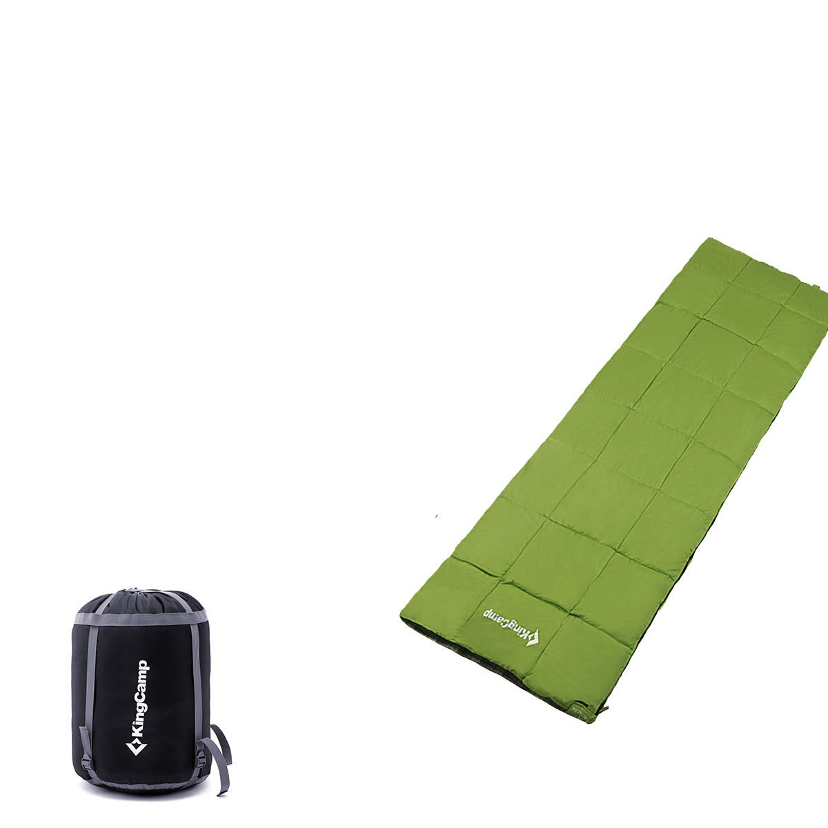 Envelope Single/Double Multi Color Flannel Sleeping Bag With Carry Case