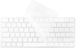 Clear Ultra Thin Keyboard Protector Cover Skin for Apple iMac Magic Wireless Keyboard MLA22L/A (A1644) U.S Version (Transparent)