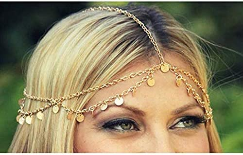 confezione da 4 pezzi fascia per capelli per donne e ragazze BlueSpace