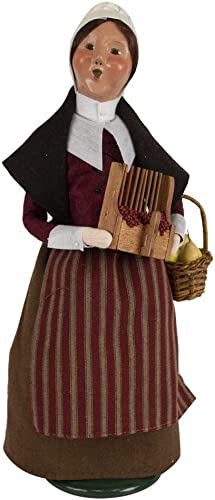 Byers Choice Pilgrim Woman Caroler Figurine from The Thanksgiving Collection 5011C