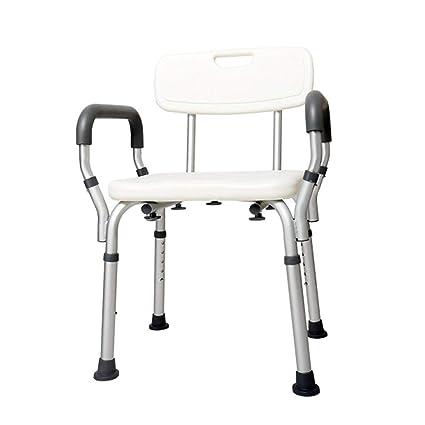 Bad Stuhl Duschhocker Badezimmersitz, Höhenverstellbar Mit ...