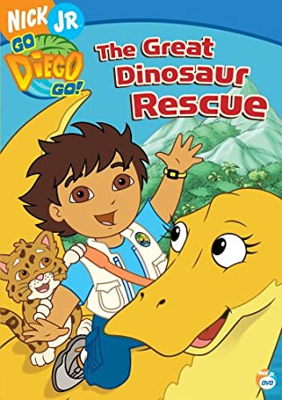 Amazoncom Go Diego Go  The Great Dinosaur Rescue Adam Alexi