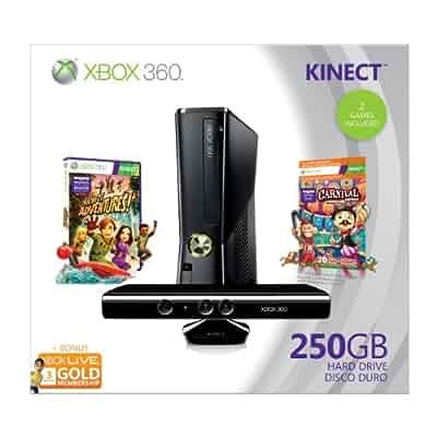 Amazon Com Xbox 360 250gb Holiday Value Bundle With