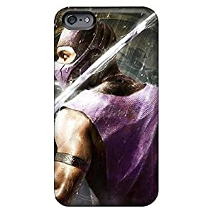 iphone 4 /4s Colorful mobile phone carrying cases Protective Impact mortal kombat rain