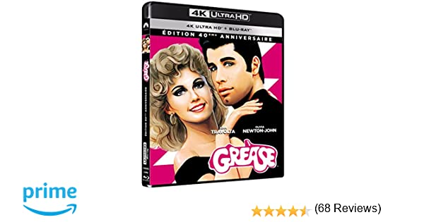 Grease [Francia] [Blu-ray]: Amazon.es: John Travolta, Olivia ...