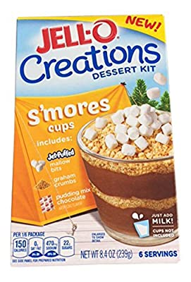 Jell-o Creations Dessert Kit S'Mores Cups- 2 Boxes