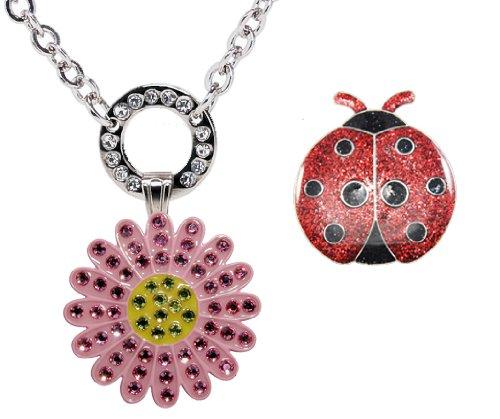 Navika USA Magnetic Necklace with Swarovski Crystal Pink ...