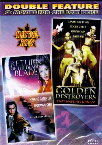 Return of the Deadly Blade+Golden DestroyersMartial Arts[Double Feature]
