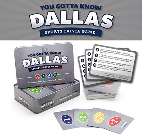 You Gotta Know Dallas - Sports Trivia Game