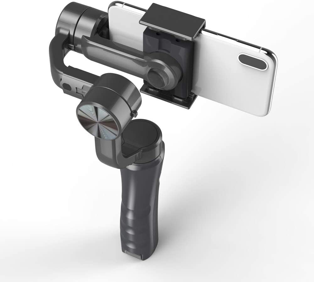 RuleaxAsi 3-Axis Handheld Gimbal Smartphone Stabilizer Built-in Lithium Battery for Phone Xs Max//Xs//X//8 Plus//8//7//7 Plus for Samsung Huawei Xiaomi Smartphones