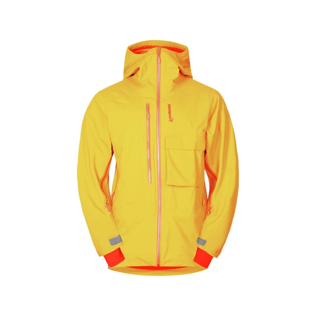 NORRONA(ノローナ) Lyngen Driflex3 Jacket Men's 3200-15 B014T2KB9E M Yellow Saffron Yellow Saffron M