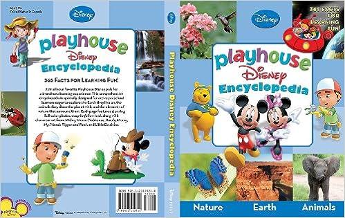 Playhouse Disney Encyclopedia: 9781423119210: Amazon com: Books