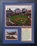 """Legends Never Die """"New York Mets Citi Field Inside"""" Framed Photo Collage, 11 x 14-Inch"""