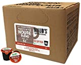Maud's Gourmet Coffee Pods - Maud's in the House Blend, 100-Count Single Serve Coffee Pods - Richly Satisfying Premium Arabica Beans, California-Roasted - Kcup Compatible, Including 2.0