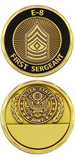 U.S. Army First Sergeant E-8 Challenge Coin ()