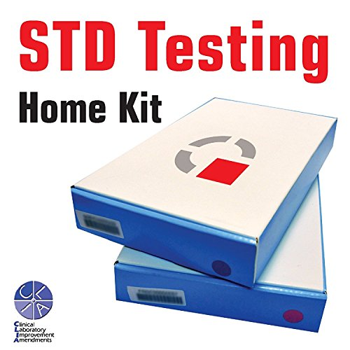 - STD self testing home kit / Easy 4 Steps Private Test Kit / All 7 types of STDs