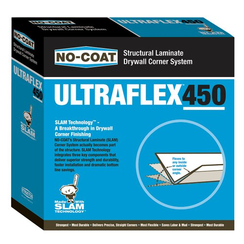 No Coat Drywall - No-Coat Ultraflex (4 Rolls (Case) Ultraflex 450)