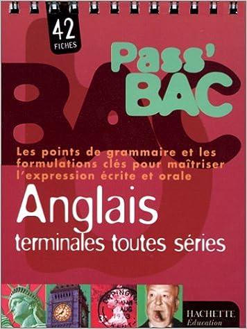 En ligne téléchargement gratuit Pass bac Anglais, terminale toutes séries pdf, epub ebook
