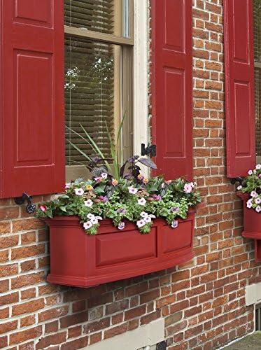 Mayne 4830-R Polyethylene Window Box, Red