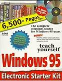 Teach Yourself Windows 95 Electronic Starter Kit, Publishing Sams, 0672310996