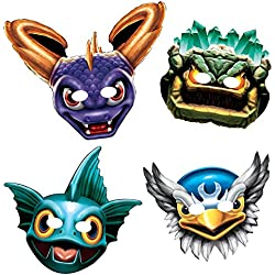 "Skylanders 6"" Paper Masks (8 Pack) - Party Supplies"