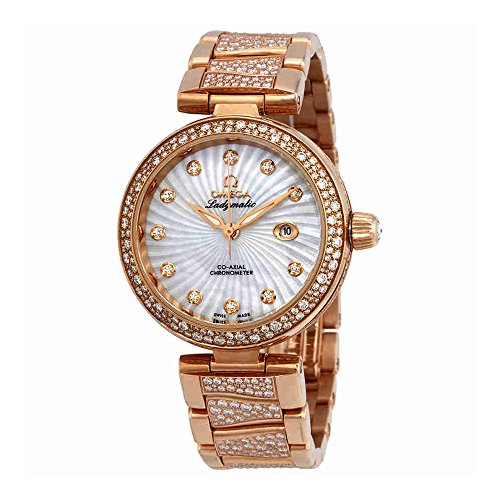 Omega-De-Ville-Ladymatic-Automatic-Mother-of-Pearl-Dial-Ladies-Watch-42565342055005