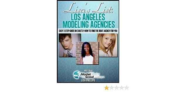 Amazon com: Lisa's List: Los Angeles Modeling Agencies (Lisa's Lists