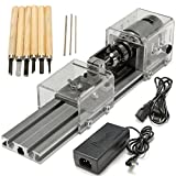 Raitool LB-01 Mini Lathe Beads Machine Wood Working DIY Lathe Polishing Drill Rotary Tool DC 24V