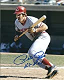 Autographed Pete Rose 8x10 Cincinnati Reds Photo