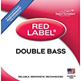 Super Sensitive Red Label 8137 Bass D String, Regular 3/4