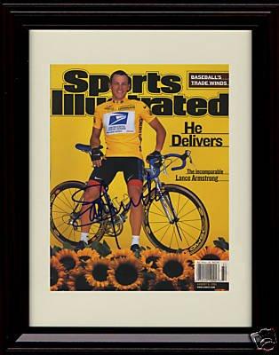 Framed – Lance Armstrong Sports 2001 Illustrated Autographレプリカ印刷/ – 8/ 6/ 2001 B00EMZ3BF0, 川棚町:f3c04fa8 --- harrow-unison.org.uk