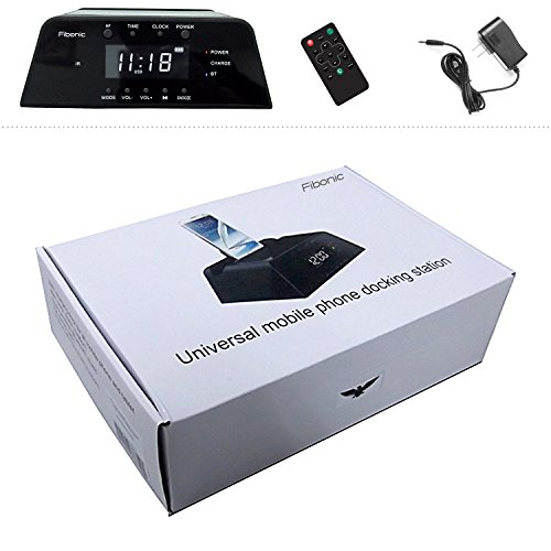fibonic bluetooth smartphone docking station portable. Black Bedroom Furniture Sets. Home Design Ideas