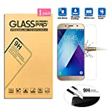 Samsung Galaxy A3 (2017) Screen Protector, [Tempered Glass] 9H Hardness 2.5D Round Edge Screen Protector for Samsung Galaxy A3 (2017)